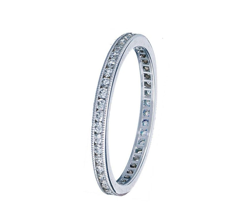 BLM Signature Channel Eternity Band