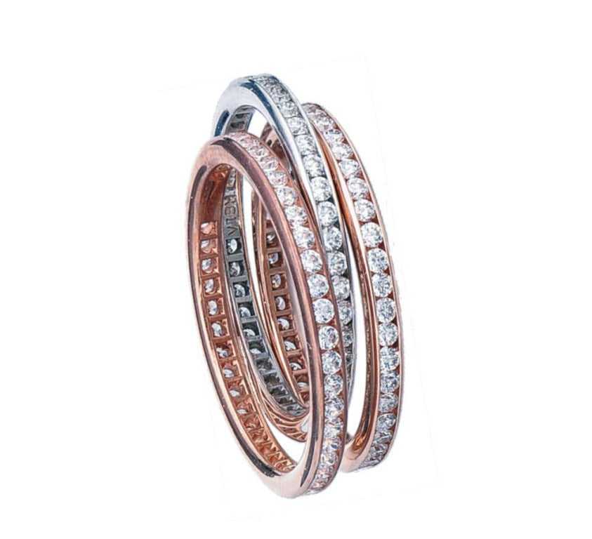 Brent L. Miller Signature Channel Eternity Band