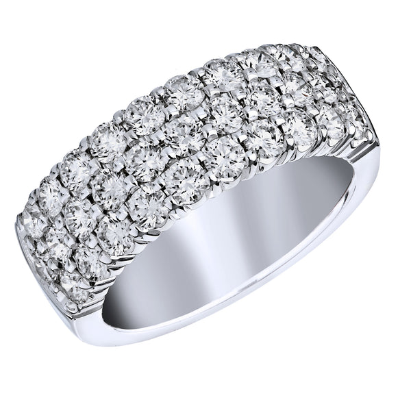 BLM Signature White 18 Karat Ring