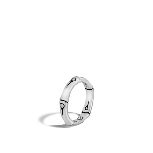 John Hardy Sterling Silver Bamboo Band Ring