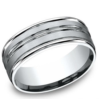 Benchmark 8mm Cobalt Wedding Band