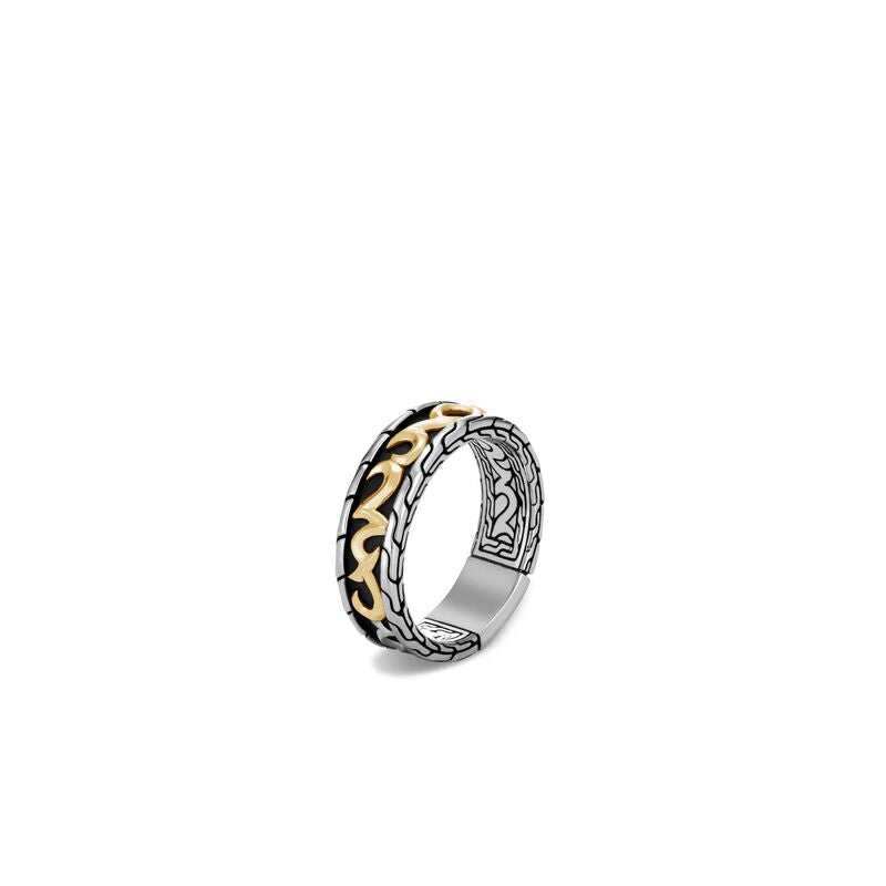 John Hardy Men's Classic Chain Keris Dagger Ring
