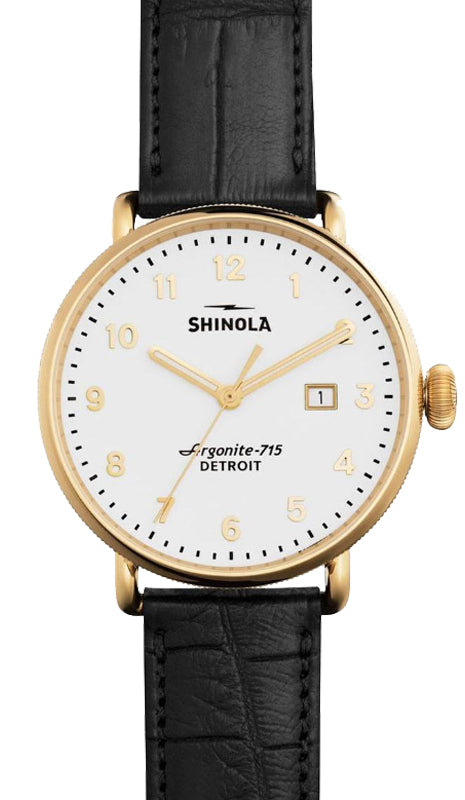 Shinola 'The Canfield' 43mm Watch