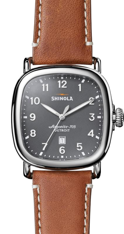 Shinola 'The Guardian' 41.5 mm Watch with Grey Dial