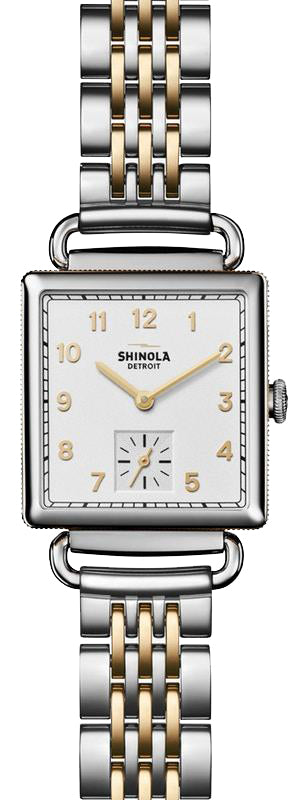 Shinola 'The Cass' Two-Toned Watch