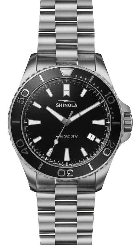 Shinola 'Lake Superior' Monster Automatic Watch