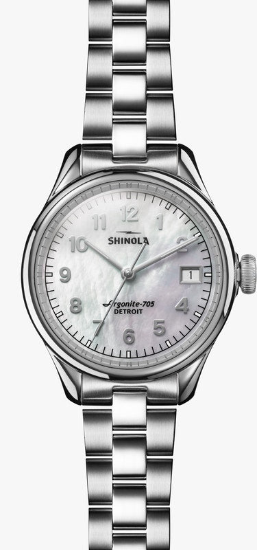 Shinola 'The Vinton' Watch with MOP Dial
