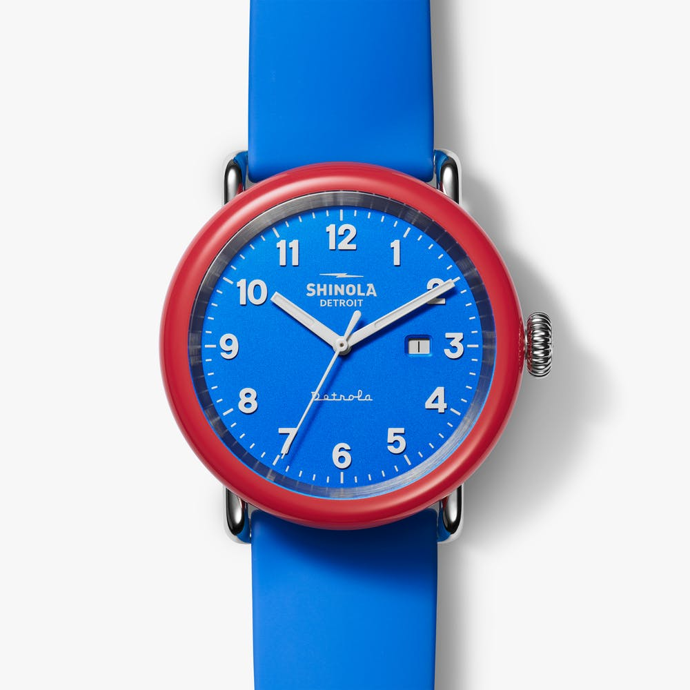 Shinola 'I VOTED' Detrola Watch
