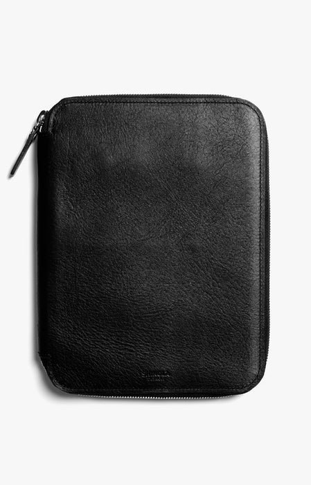 Shinola Tech Portfolio in Black Leather