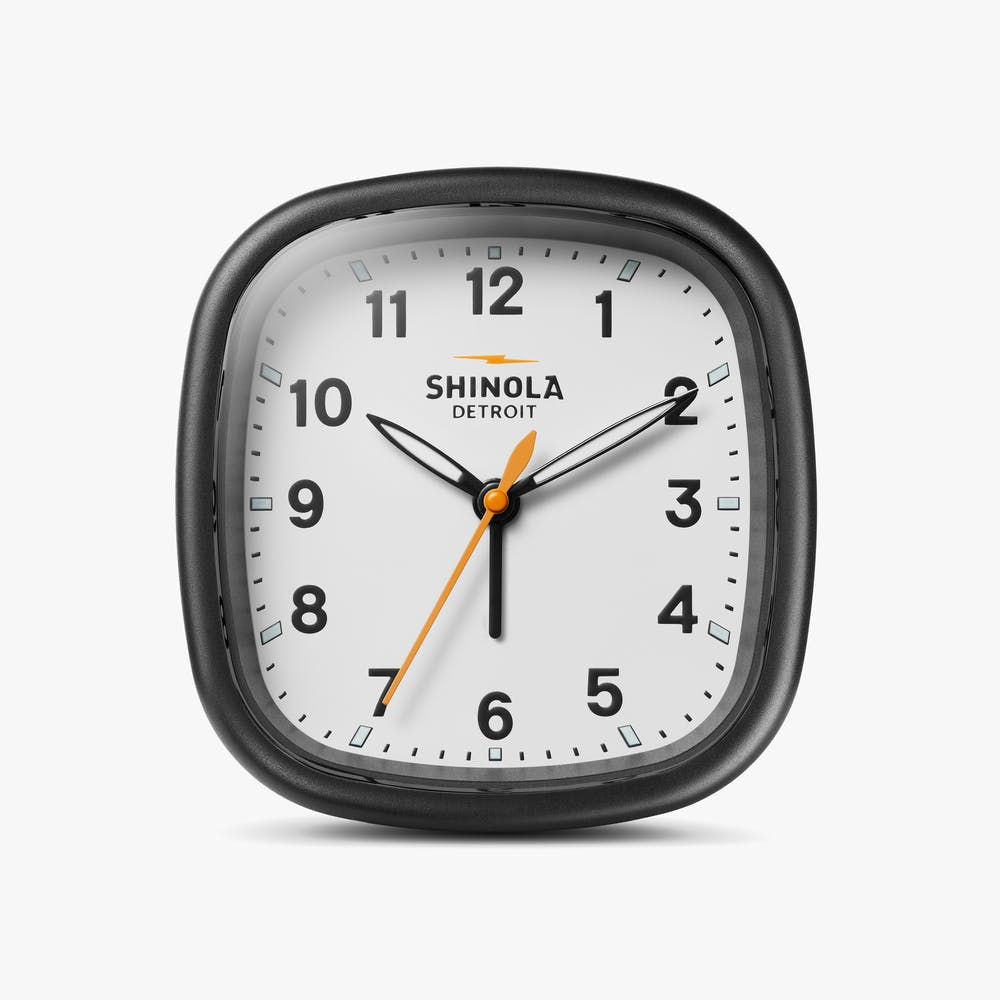 Shinola Guardian Travel Alarm Clock