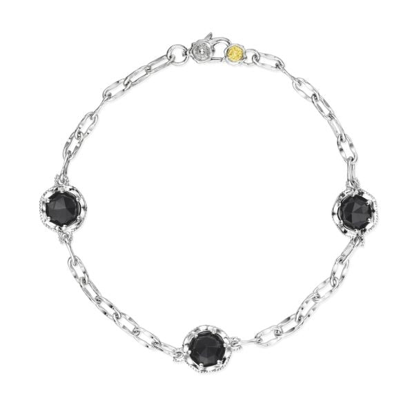 Tacori 'Crescent Crown' Onyx Bracelet