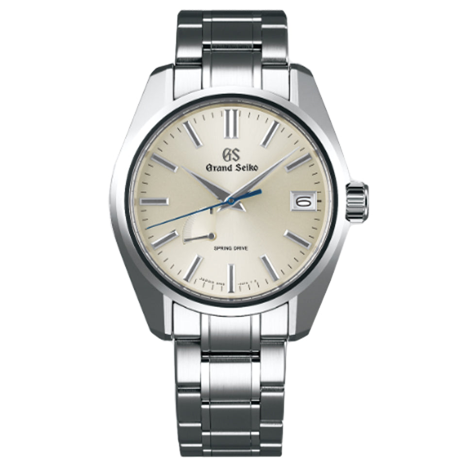 Grand Seiko Spring Drive Automatic Watch with Silver Dial