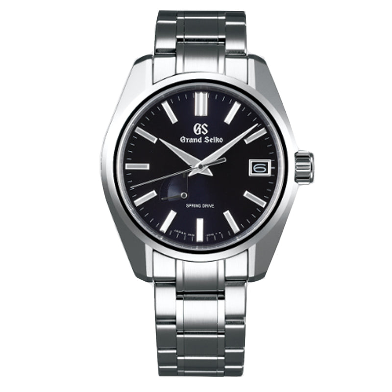 Grand Seiko Spring Drive Automatic Watch with Blue Dial