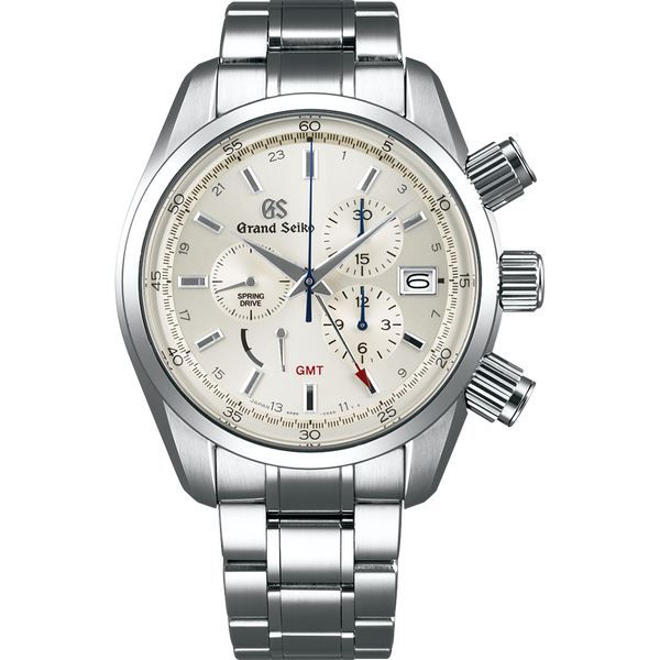 Grand Seiko Automatic Spring Drive 3-Day Chronograph GMT Watch
