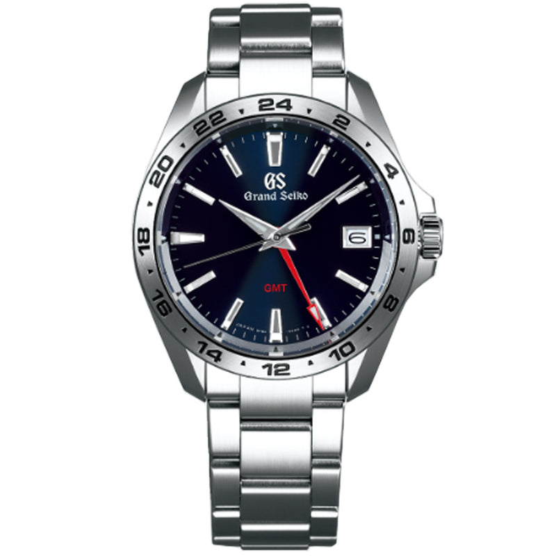 Grand Seiko Sport GMT Quartz Watch with Blue Dial