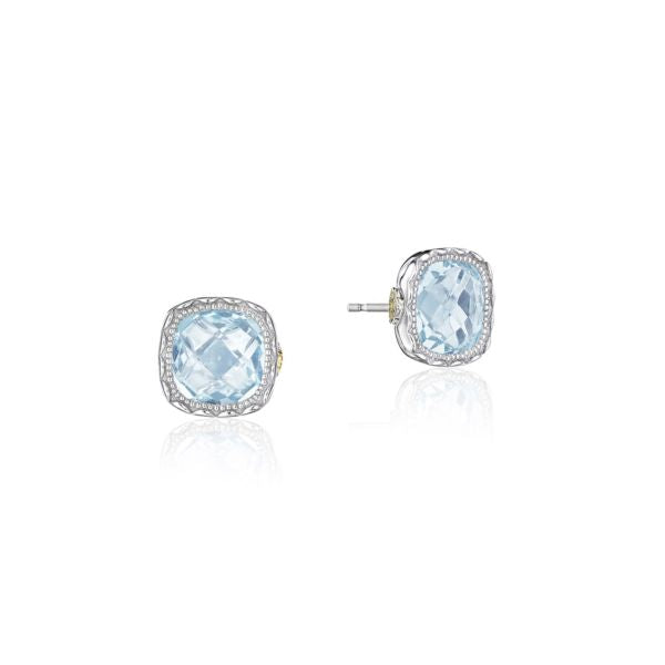 Tacori 'Crescent Embrace' Sky Blue Topaz Stud Earrings