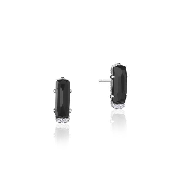 Tacori 'Horizon Shine' Black Onyx Stud Earrings