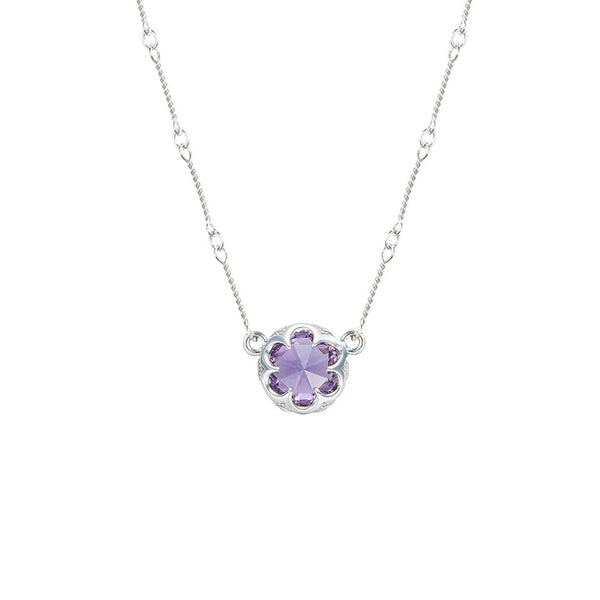 Tacori 'Sonoma Skies' Amethyst Station Link Necklace