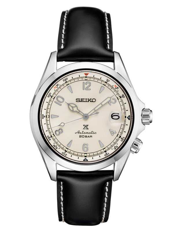 Seiko Prospex Automatic Watch with Ivory Dial