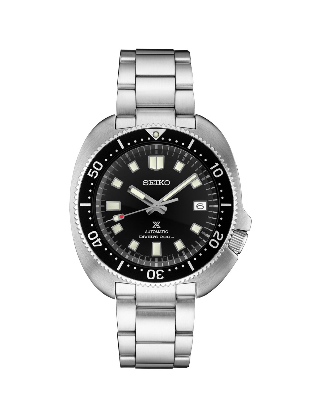 Seiko Prospex 1970 Willard Watch with Black Dial