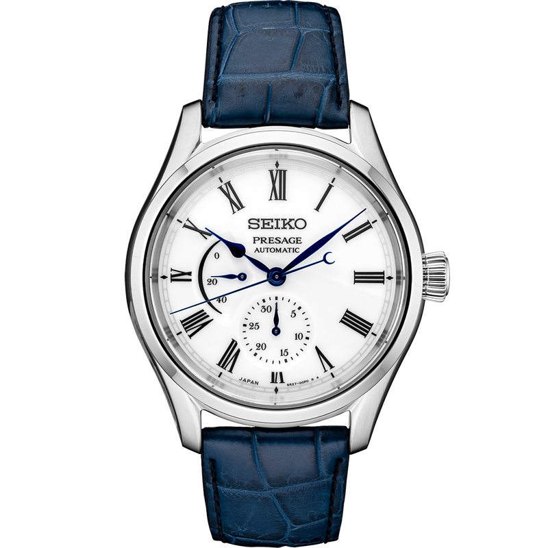 Seiko Presage Limited Edition Arita Automatic Watch with White Porcelain Dial