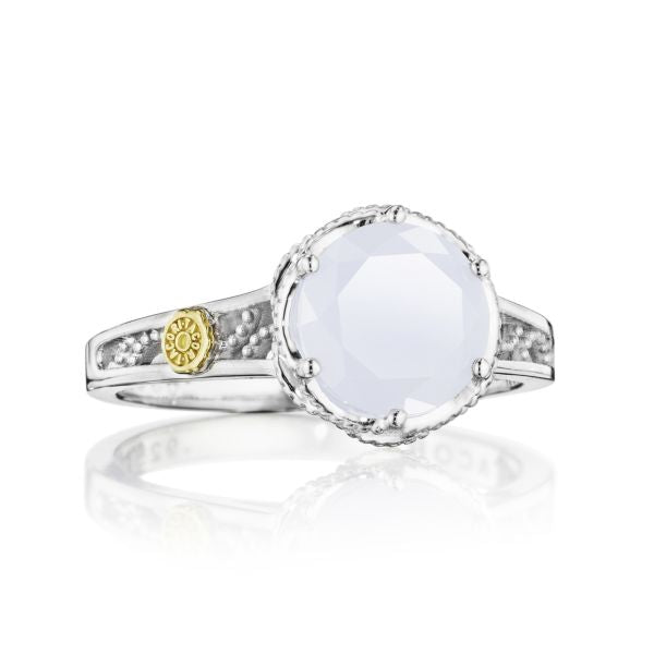 Tacori 'Crescent Crown' Chalcedony Ring