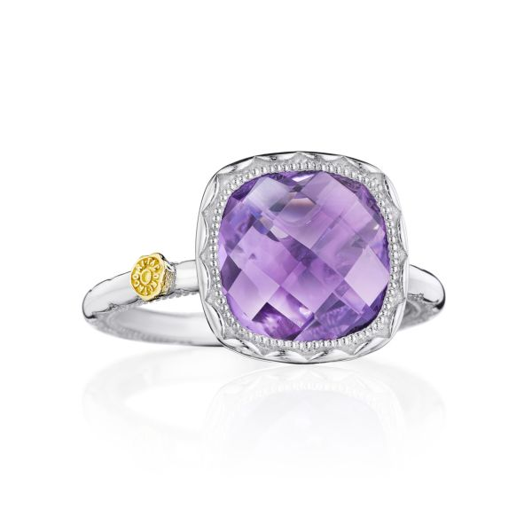 Tacori 'Crescent Embrace' Amethyst Ring