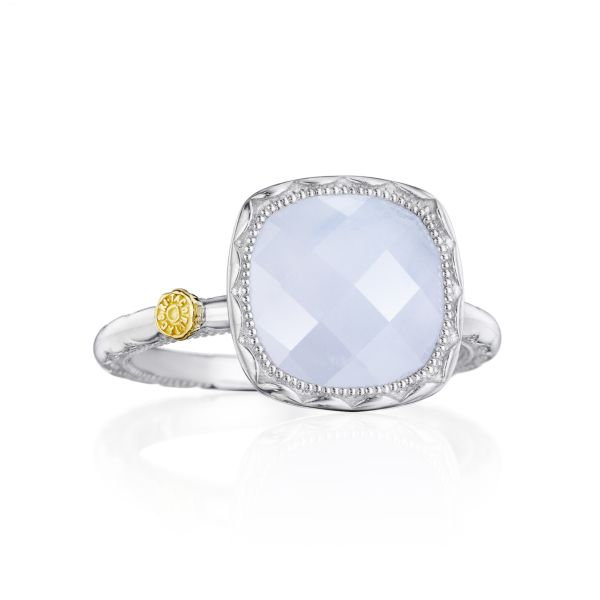 Tacori 'Crescent Embrace' Chalcedony Ring