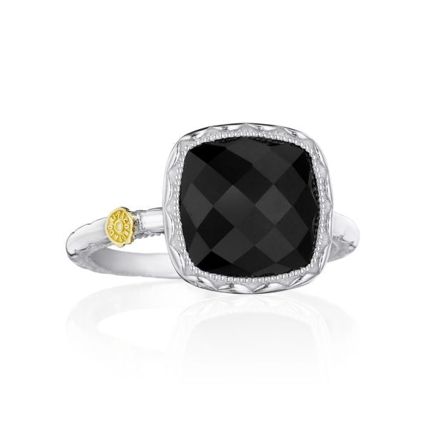 Tacori 'Crescent Embrace' Black Onyx Ring