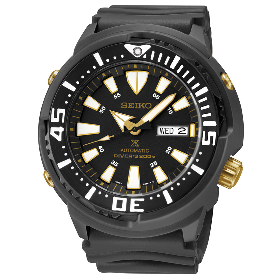 "Seiko USA Prospex ""Baby Tuna"" Diver Automatic Watch"