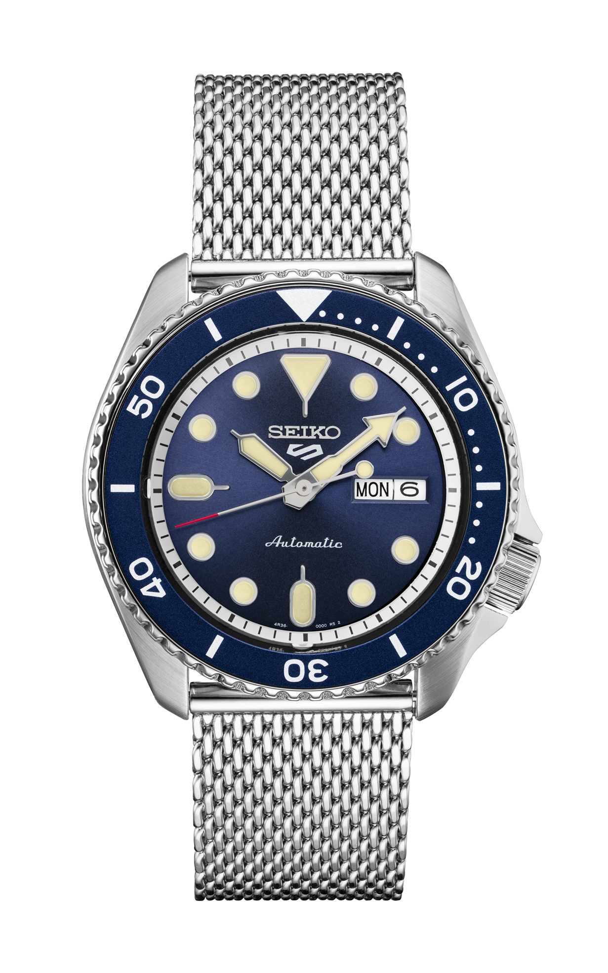 Seiko 5 Sports Watch with Blue Dial