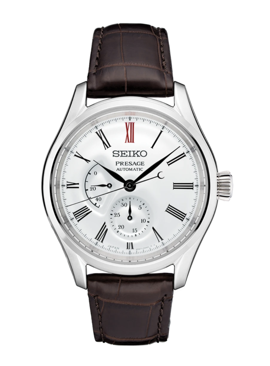 Seiko Presage Arita Automatic Watch with White Porcelain Dial