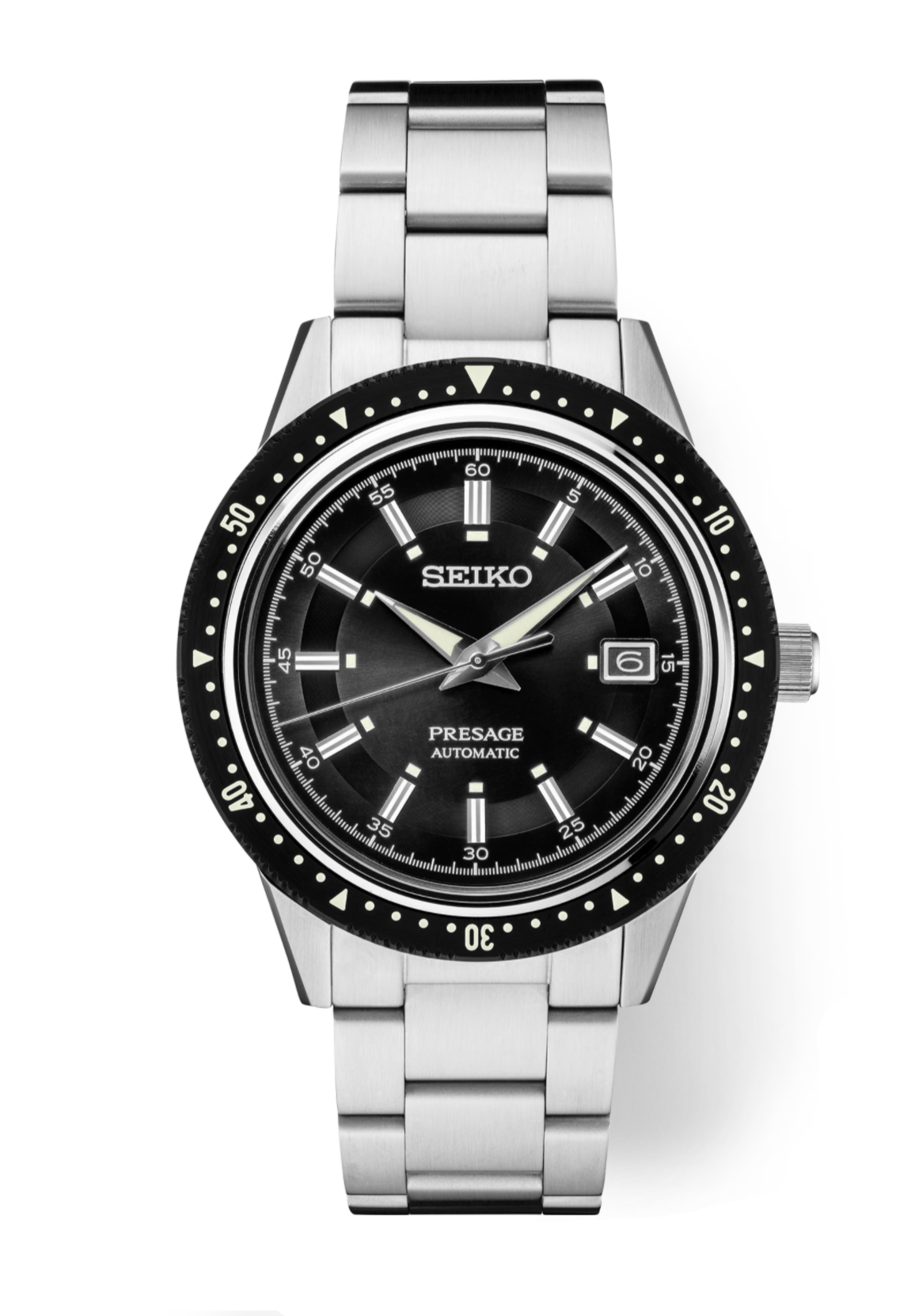 Seiko Presage Limited Edition Automatic Watch with Black Dial