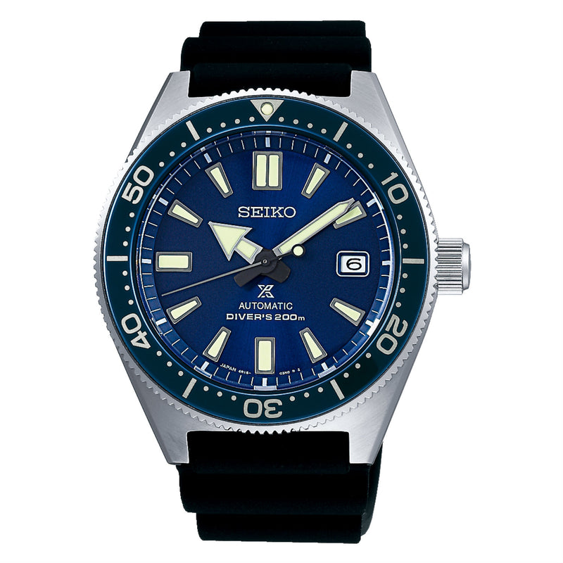 Seiko Prospex Automatic Diver 42.6mm Watch with Blue Dial