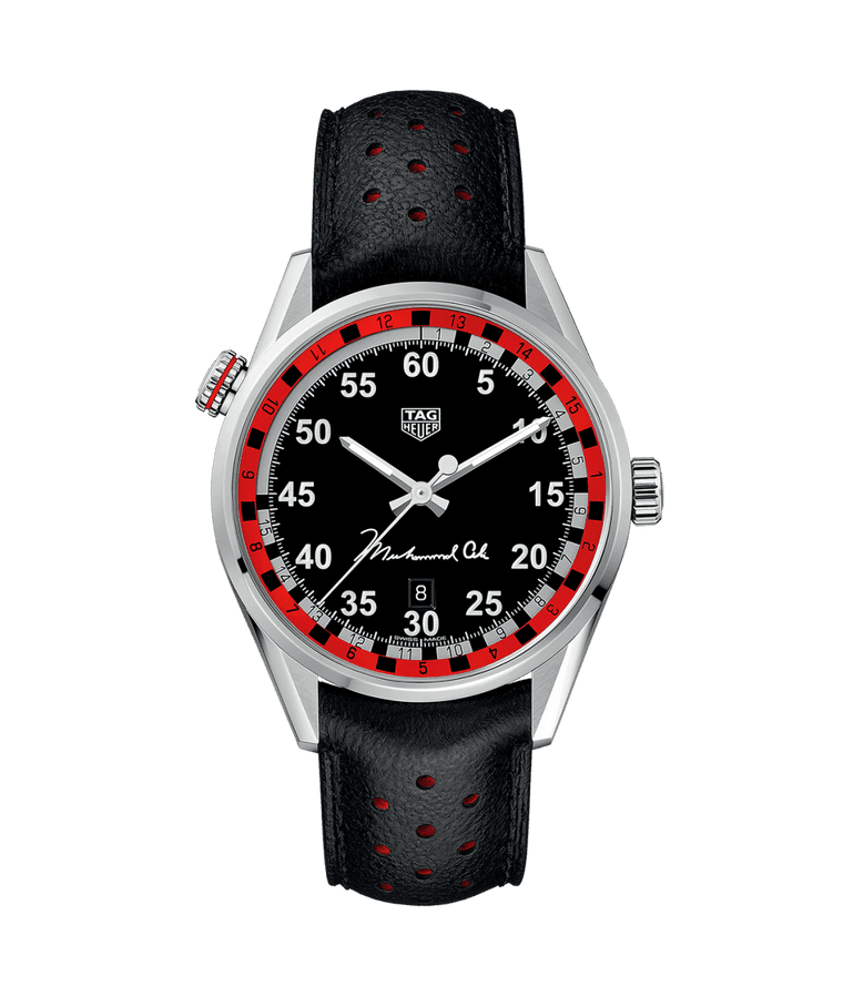 TAG Heuer Carrera 43mm Watch with Black Dial
