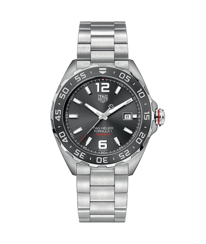 TAG Heuer Formula 1 43mm Watch with Grey Dial