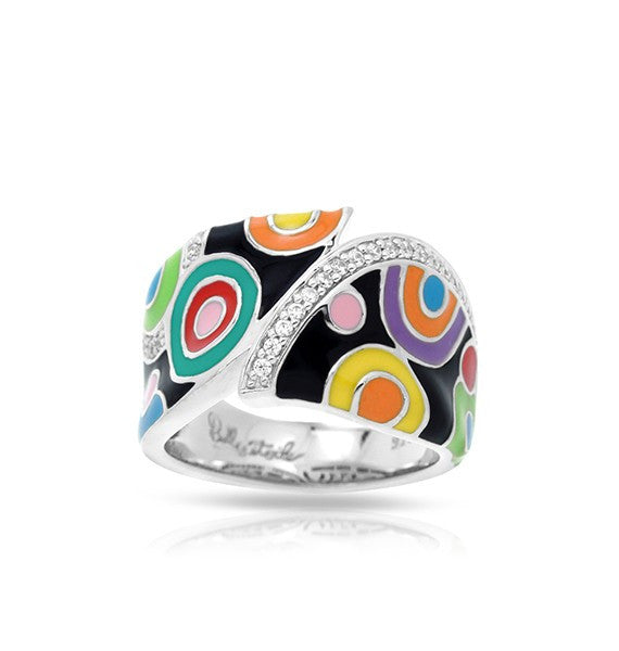 Belle Etoile 'Groovy' Multi Color Ring
