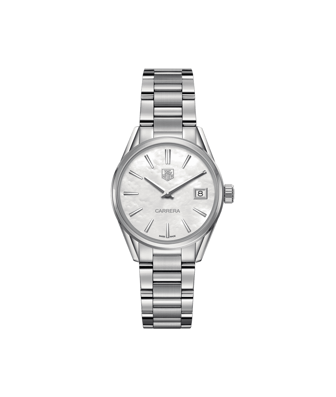 TAG Heuer 'Carrera' 32mm Watch with Mother of Pearl Dial