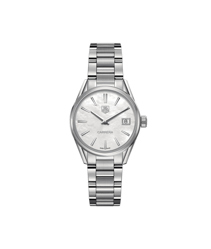 TAG Heuer Carrera 32mm Watch with Mother of Pearl Dial