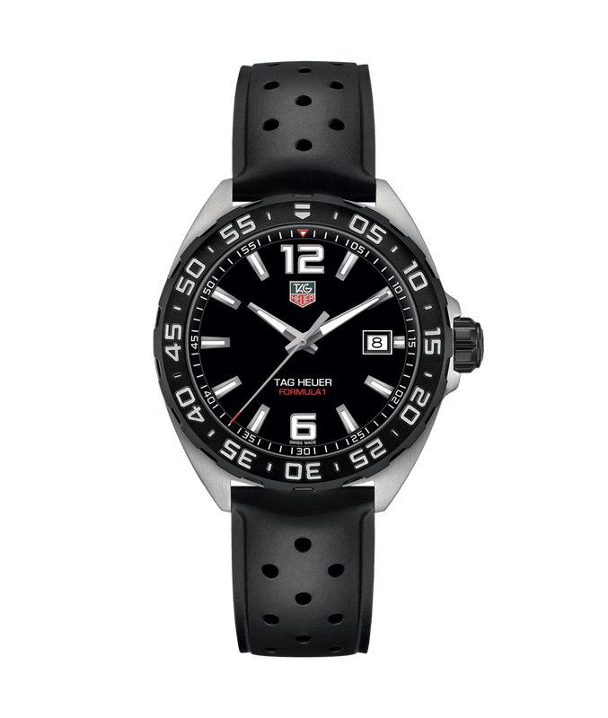TAG Heuer Formula 1 Quartz 41mm Watch with Black Dial