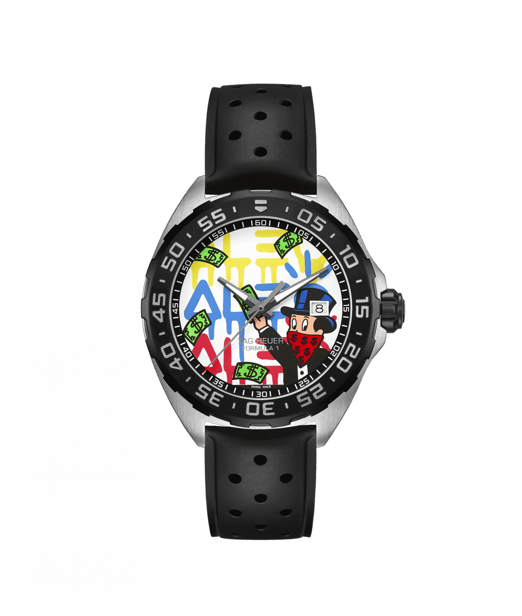 TAG Heuer Formula 1 41mm Watch with Special Edition Monopoly Dial