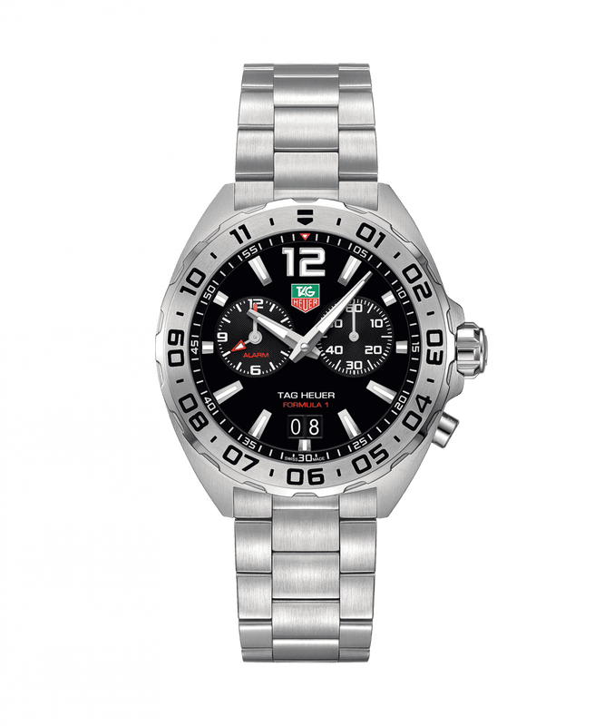 TAG Heuer 'Formula 1' 41mm Watch with Black Dial