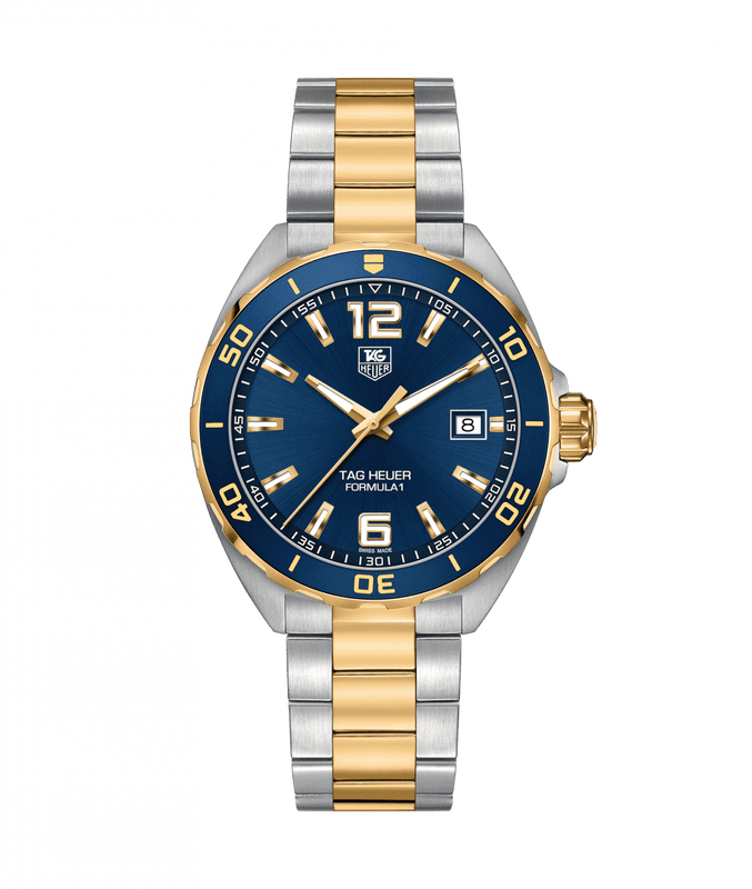 TAG Heuer Formula 1 41mm Watch with Blue Dial