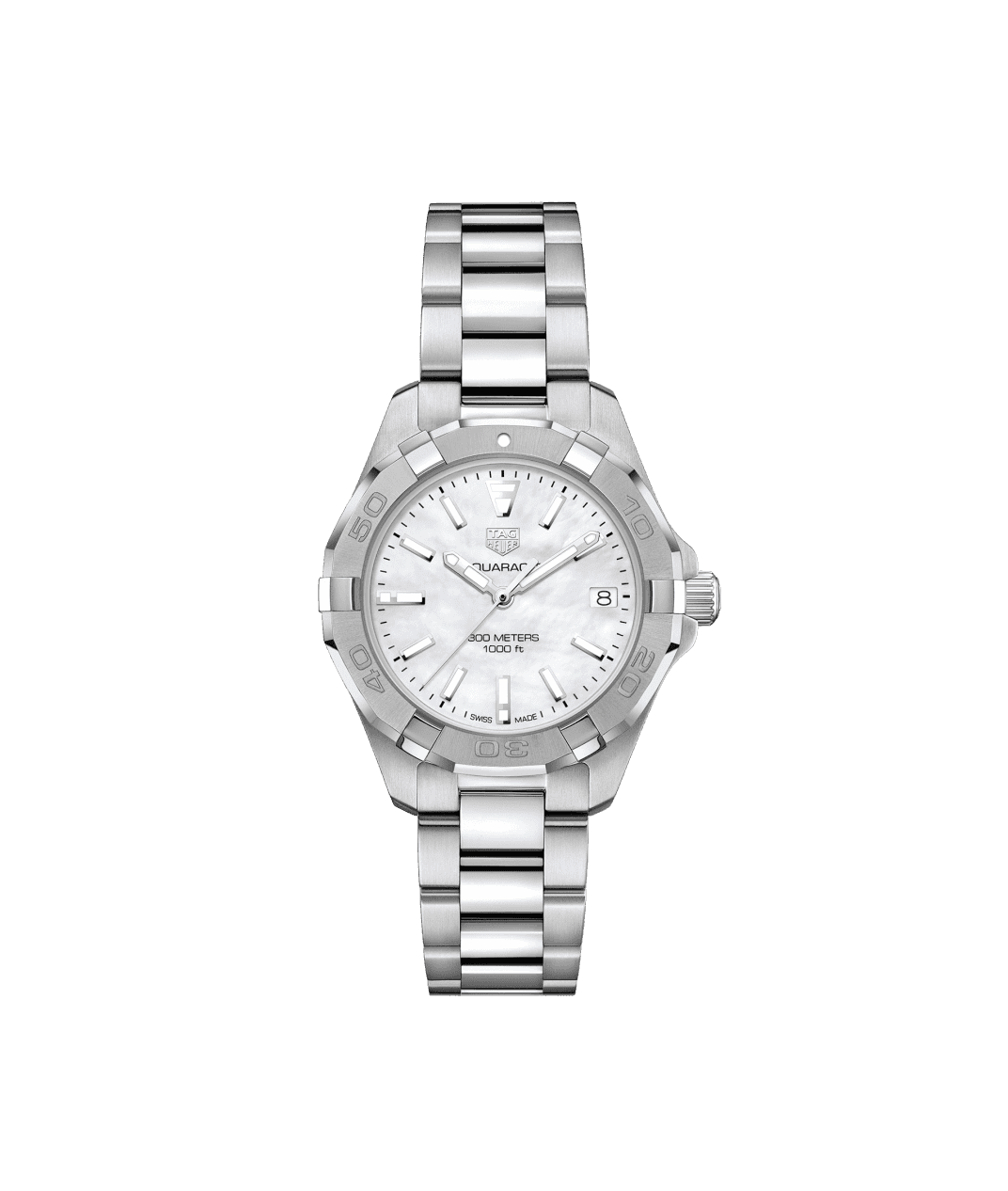 TAG Heuer Aquaracer 32mm Ladies Watch with Mother of Pearl Dial