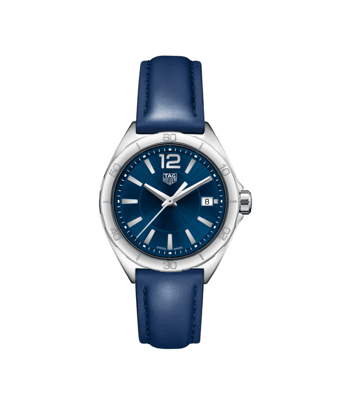 TAG Heuer 'Formula 1' 35mm Watch with Blue Dial