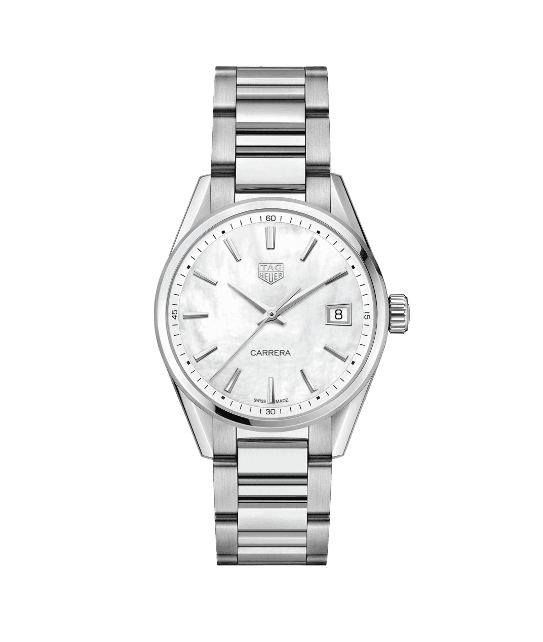 TAG Heuer Carrera 36mm Ladies Watch with Mother of Pearl Dial