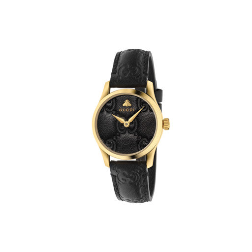 Gucci G-Timeless 27mm Watch with Black Dial