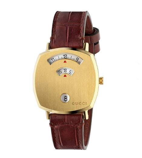 Gucci Grip Yellow Gold Tone Watch