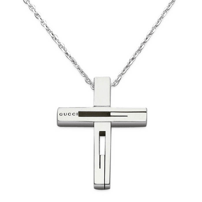 Gucci Large Cross Necklace