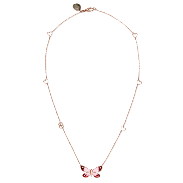 Gucci Flora Butterfly Necklace.
